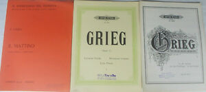 GRIEG-Il-mattino-op-46-To-the-spring-op-43-n-6-Lyric-pieces-op-12