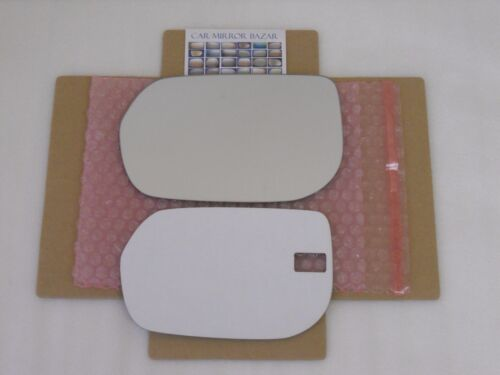 D140L Mirror Glass for 07-12 Acura RDX Driver Side View Left FULL SIZE ADHESIVE