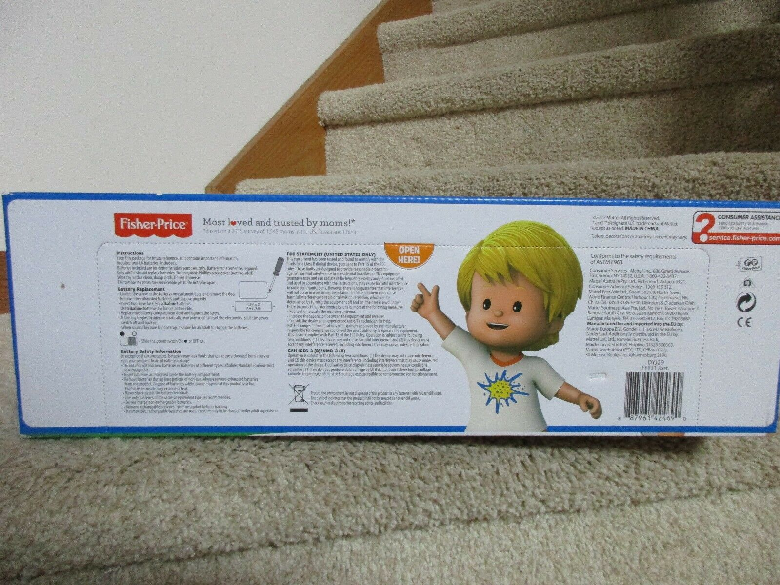 Fisher Price Little People Manners Marketplace Marketplace Marketplace Please & Thank You Facial  NIB 9dd8ef