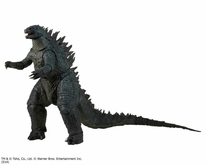 Godzilla - 24  Head  to Tail azione cifra with suono - Modern Godzilla - NECA  vendita outlet online
