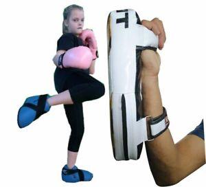 Adult-Kick-Boxing-Target-Arm-Pad-Taekwondo-Karate-Focus-Muay-Punch-Mitts-MMA
