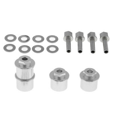 1//10 RC Car Replacement Wheel Hex Hub Extension Adapter Kits for Axial SCX10