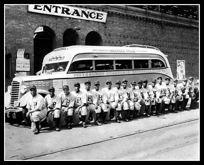 1935 Pittsburgh Crawfords Team Photo 8X10 - Bell Gibson Buy Any 2 Get 1 FREE