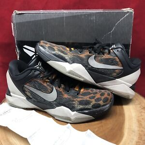 size 40 a81e5 96dff Image is loading Nike-Zoom-Kobe-VII-System-Cheetah-Size-10-