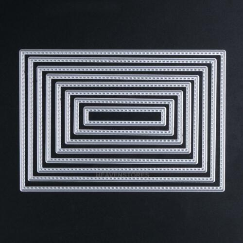 DIY Metal Cutting Dies Stencil Album Paper Cards Embossing Scrapbooking Craft