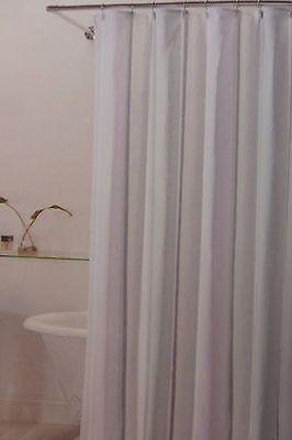 New HOTEL TWENTY ONE Fabric SHOWER CURTAIN SAGE CIRCLE NIP