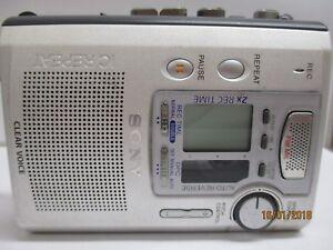 Sony-TCM-900DV-Cassette-Voice-Recorder-RARE-10-FREE-Cassette-Tapes