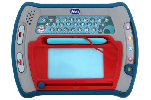 Lern Spiel Computer CHICCO mit 4 Spielstufen Kinder Lerncomputer Maltafel NEU