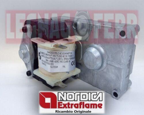 EXTRAFLAME NORDICA ROSY MOTORIDUTTORE 2 RPM 2271032 ORIGINALE