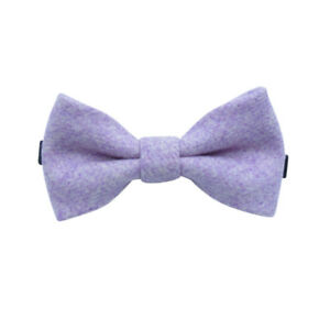 Enfants-Garcons-Vintage-Violet-a-Elastique-Laine-Noeud-Cravate-Super-Reviews-UK