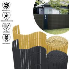 PVC-Zaun Sichtschutzmatte Sichtschutzzaun Windschutz Sichtschutz Balkon Garten