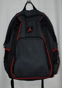 c1d14cb8339c Nike Jordan Jumpman 23 Black Red Backpack - 9A1223-023