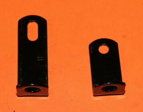 TRIUMPH 3TA 5TA PAIR FRONT EXHAUST PIPE MOUNTING BRACKETS 82-4283 82-4707 UK