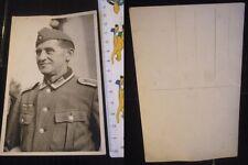 Orig. Foto Soldat 2.WK 3.Reich WWII Uniform Karte Photo Postkarte Unteroffizier
