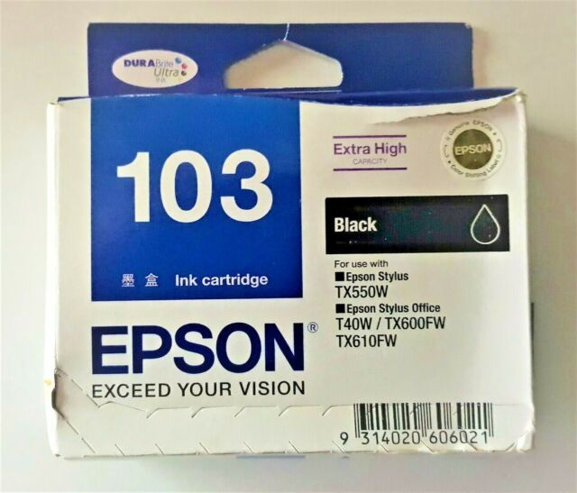 Epson 103 Extra High Capacity Ink Cartridge Black