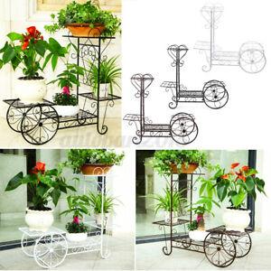 4-Tiers-Outdoor-Indoor-Metal-Plant-Stand-Planter-Shelf-Garden-Lounge
