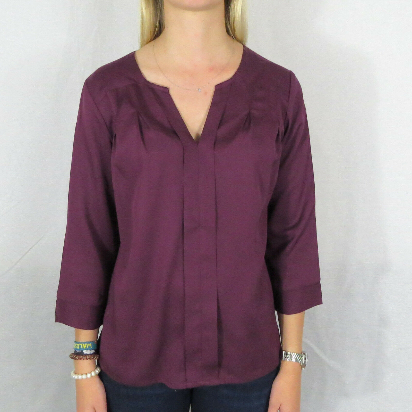 THOUGHT Victoria bluese Hemd Shirt heather red WWT3419