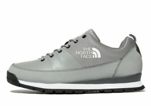 THE-NORTH-FACE-Back-To-Berkeley-Leather-Men-039-s-Trainers-UK-6-12-Grey-Brand-New