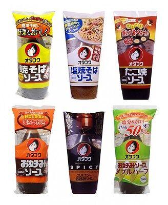 Otafuku Sauce Yakisoba Takoyaki Okonomiyaki Variety Taste Import JAPAN