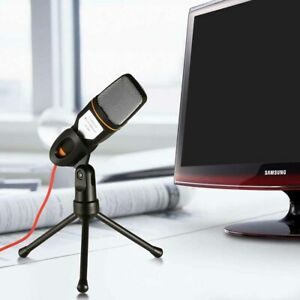 Professional-Condenser-Microphone-Sound-Podcast-Studio-Stereo-3-5-Mic-For-PC-Hot