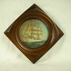 Adaptable Miniature Trois-mâts Vieux Grément Three-masted Rig Boat Sailing Ship Voilier Fabrication Habile