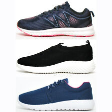 BIG VALUE - Active Womens Fitness Gym Workout Casual Comfort Sports Trainers