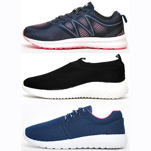 Active Womens Fitness Gym Casual Comfort Sports Trainers From £8.99 FREE P&P