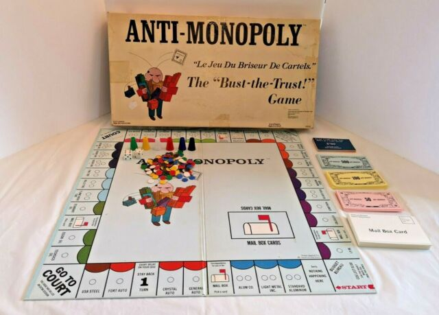 VINTAGE Parker Board Game, Look New Never Used Fun Game,Free Shipping Canada And U.S.A. Money Game VTG MONOPOLY English Edition