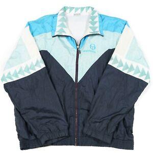 71bd88973 80s Vintage SERGIO TACCHINI Tracksuit Jacket | Men's L | Track ...