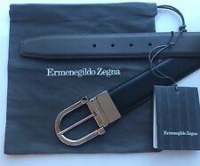 Ermenegildo Zegna Men's reversible leather belt, nwt