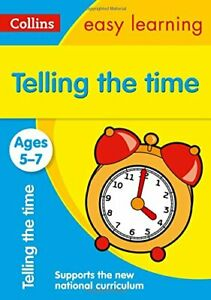 Telling-the-Time-Ages-5-7-New-Edition-Collins-Easy-Learning-KS1-By-Collins-E