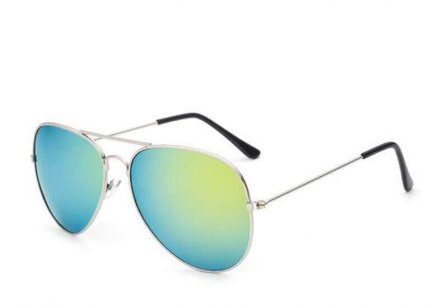 Pilot Aviator Sunglasses Mirrored Classic UV400 Shades Men Women Fashion