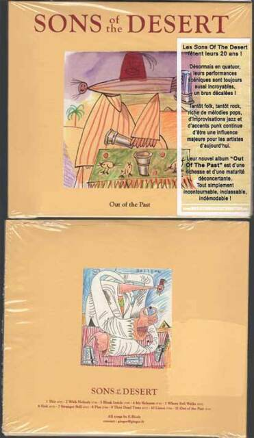 """SONS OF THE DESERT """"Out Of The Past"""" (CD Digipack) 2011 NEUF"""