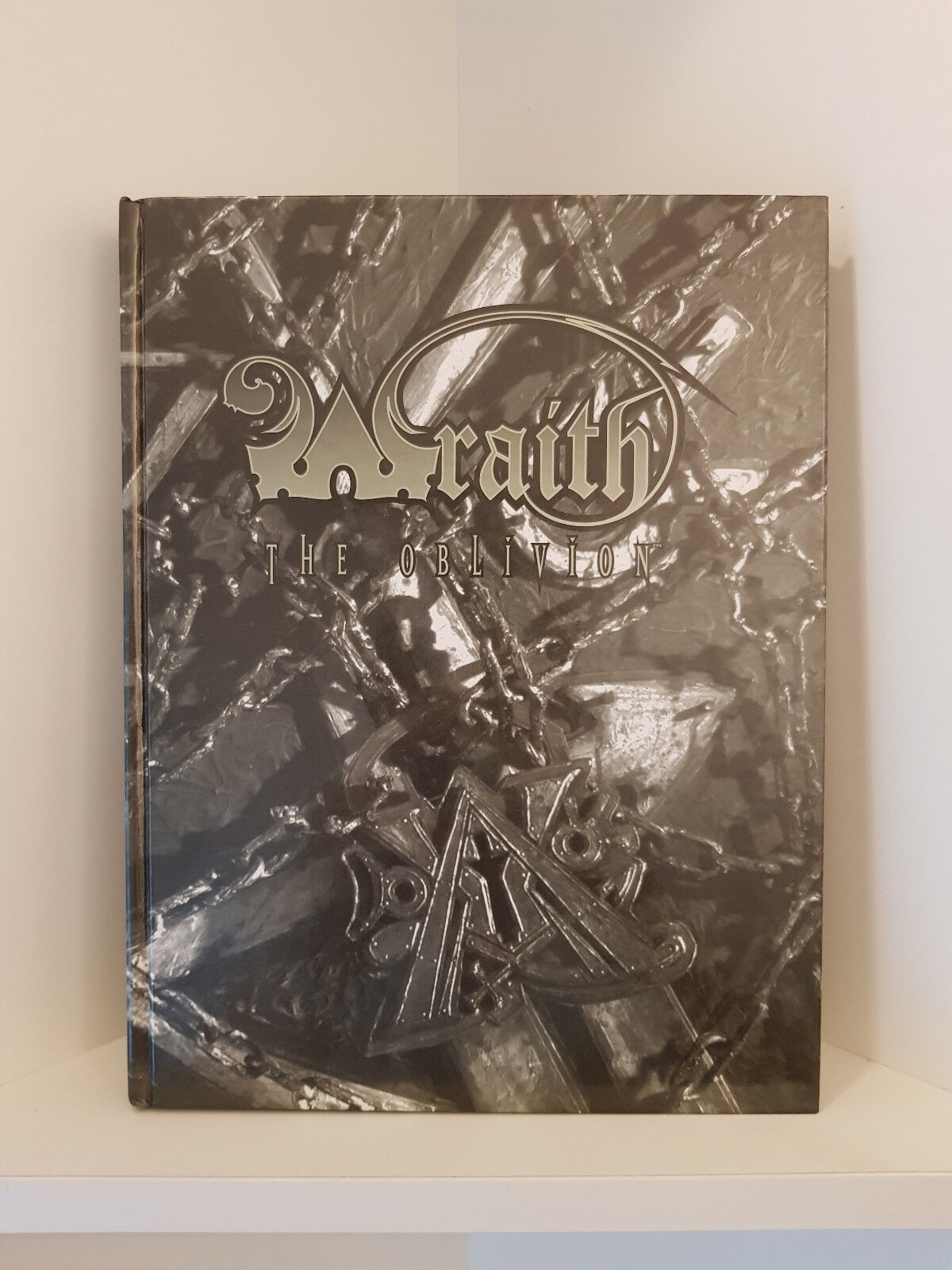 Wraith  The Oblivion Second Edition, Hardcover, RPG, blanc Wolf