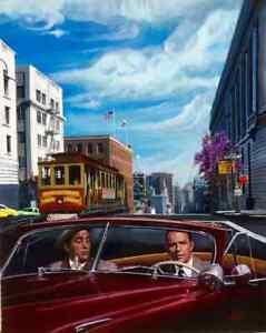 SAN-FRANCISCO-Cable-Car-Frank-Sinatra-Martin-Grant-Midcentury-HUGE-CANVAS-Vancas
