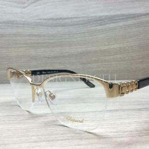 2dfb688fd939 Image is loading Chopard-VCH-A67S-Eyeglasses-Gold-Black-0300-Authentic-