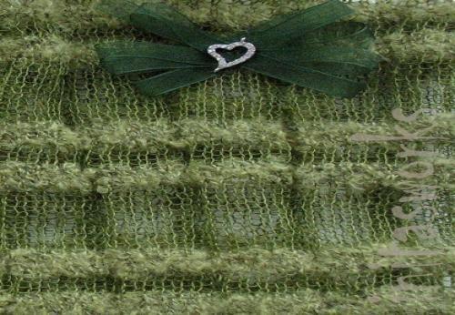 Lace Leinen Boot Cuffs Manschette Grün