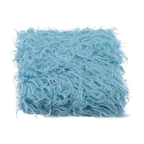 Kids Fluffy Blanket Basket Warping Rug for Studio Prop Photo Background Shan
