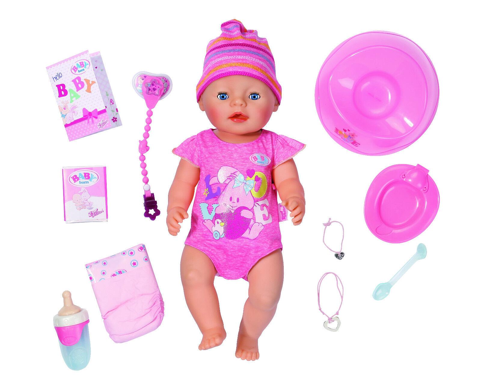 Zapf Creation Baby Born interactiv 822005 Spielzeug  brandtoys