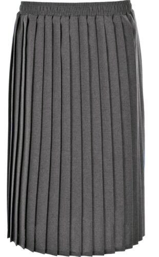 Longueur KK46 environ 68.58 cm Femme d/'une jupe plissée taille élastique couteau plis 27 in