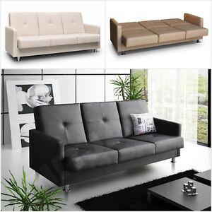 schlafcouch schlafsofa malaga moderne sofa mit schlaffunktion bettkasten couch ebay