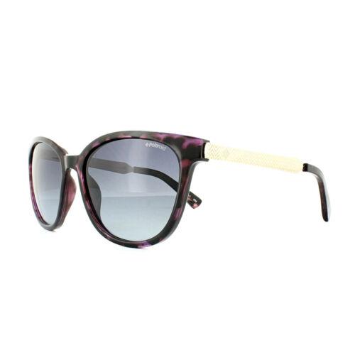 Polaroid Sunglasses PLD 5015//S LYK WJ Black Rose Gold Grey Gradient Polarized