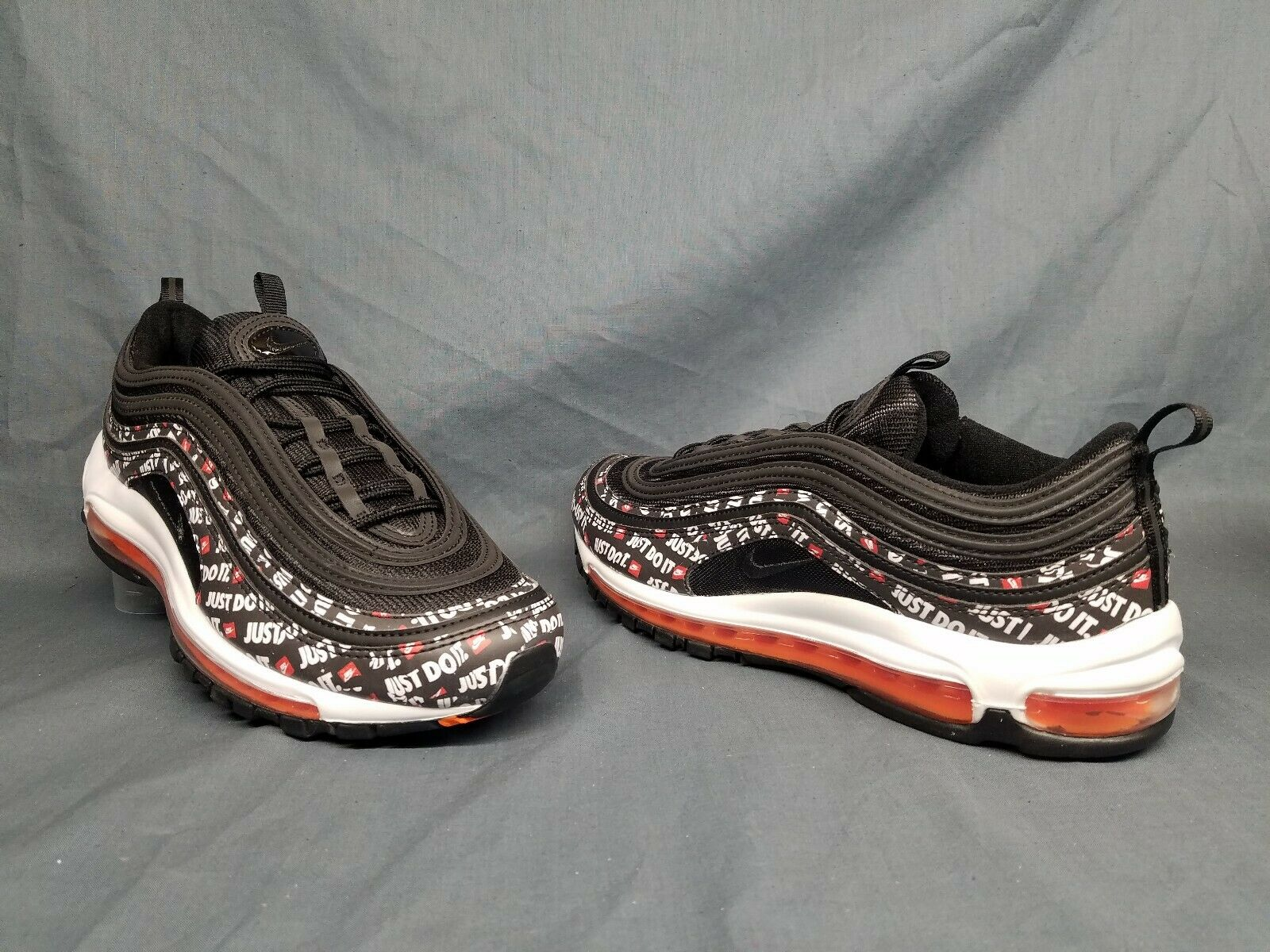 Nike Men's Air Air Air Max 97 Running Sneakers Just Do It Black Size 9 FLOOR MODEL  c7e2b0