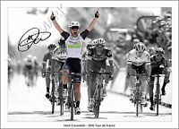 MARK CAVENDISH SIGNED PRINT POSTER PHOTO AUTOGRAPH 2016 TOUR DE FRANCE CYCLING