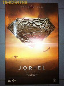 Ready! Hot Toys MMS201 Man of Steel Jor-El Russell Crowe 1/6 Superman Father New