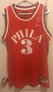 super popular f3e1e a8608 Details about Allen Iverson NBA Jersey Nike Rewind Men M Philadelphia 76ERS  Sixers #3 AI Hwc