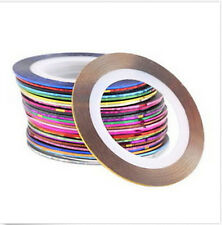 30Pcs Mixed Colors Rolls Striping Tape Line DIY NailTips Decoration Sticker Nice