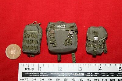 1//6th Scale Hot Toys Green Buttpack