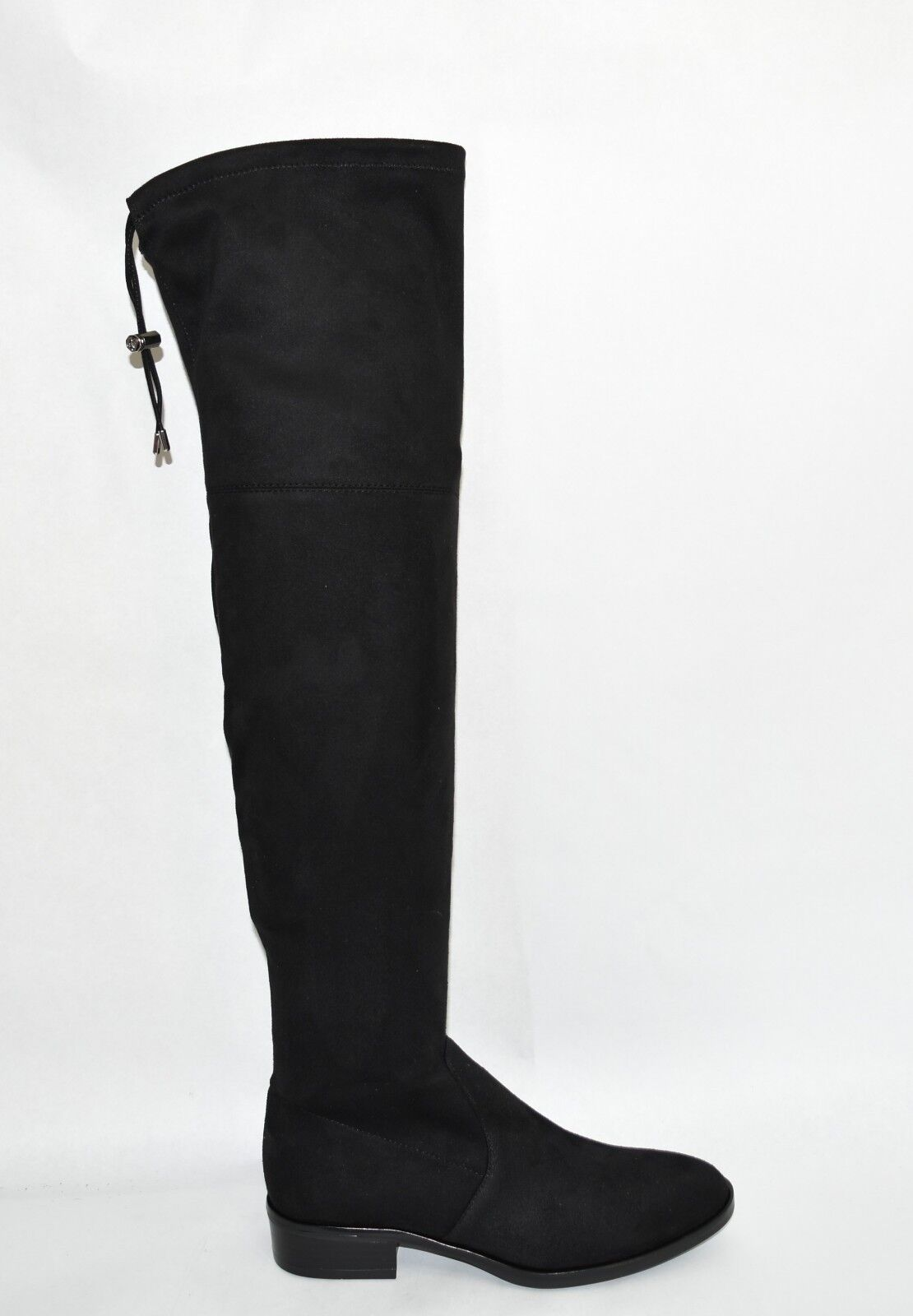 New New New  Sam Edelman 'Paloma' Size 9.5 Over-the-Knee Black Suede Boots OTK T35 662bb7