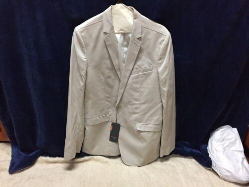 Sherman giacca Ben Grande Beige Nuovo Con Etichette Giacca wHzxqxPtY